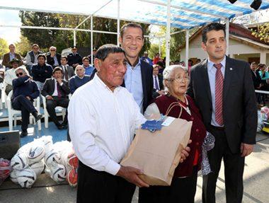 Alumine, Neuquen 20-10-2016 El gobernador encabezó el acto por
