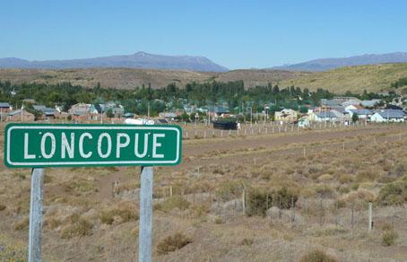 Panoramica, Loncopue, Neuquen