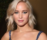 BEVERLY HILLS, CA - JANUARY 10:  Actress Jennifer Lawrence, winner of Best Performance in a Motion Picture - Musical or Comedy for 'Joy' attends FOX Golden Globe Awards Party 2016 sponsored by American Airlines at The Beverly Hilton Hotel on January 10, 2016 in Beverly Hills, California.  (Photo by Todd Williamson/Getty Images for FOX)